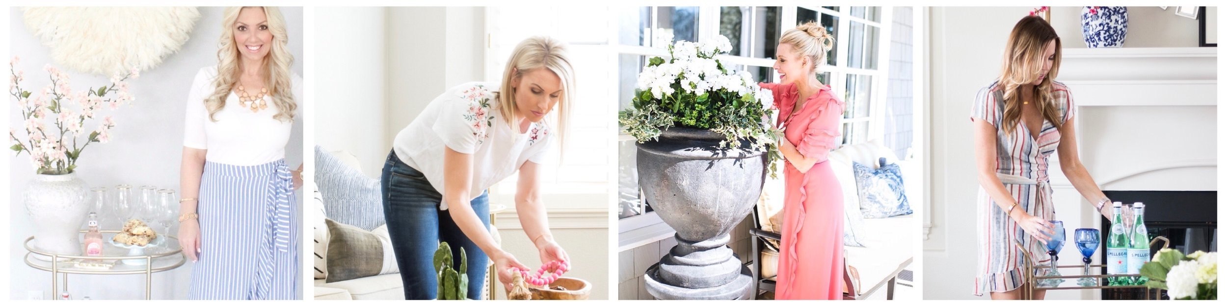 Loveliest Looks of Spring Tour - Spring decor and style blog hop