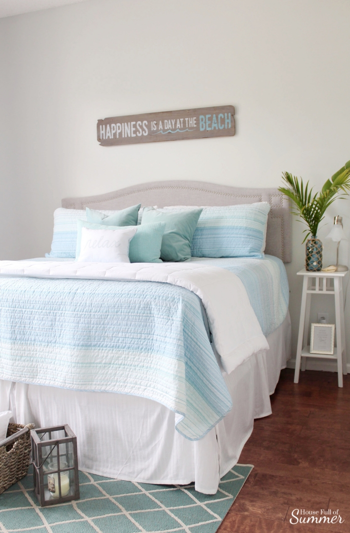 Adding An Office Space To A Guest Room House Full Of Summer