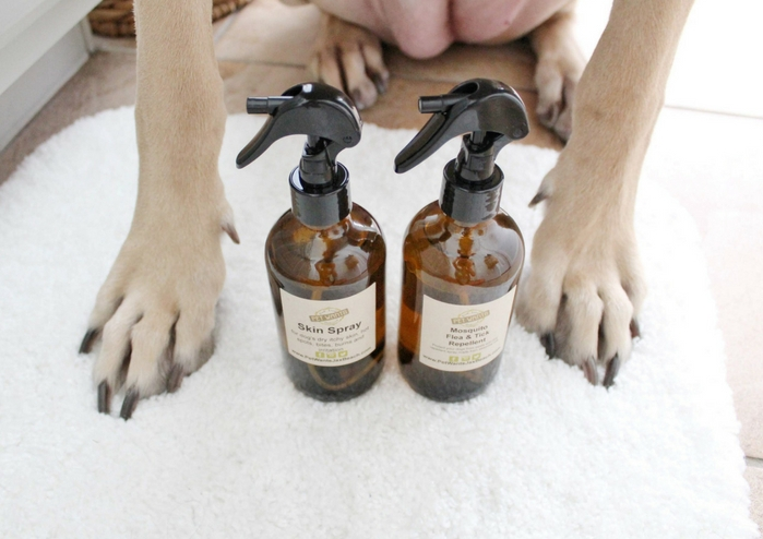 Spa Day With Summer - Helping Your Dog Live Their Best Life With Pet Wants fresh local food delivered, skin care, natural ingredients, dog food, flea and tick spray, paw pad care natural ingredient dog products, holistic care