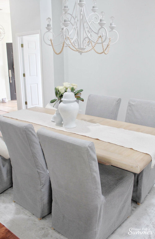 Why I Love My Comfort Works Dining, Chair Covers For Dining Room Chairs