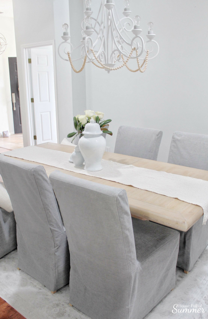 Why I Love My Comfort Works Dining Chair Covers House Full Of Summer Coastal Home Lifestyle