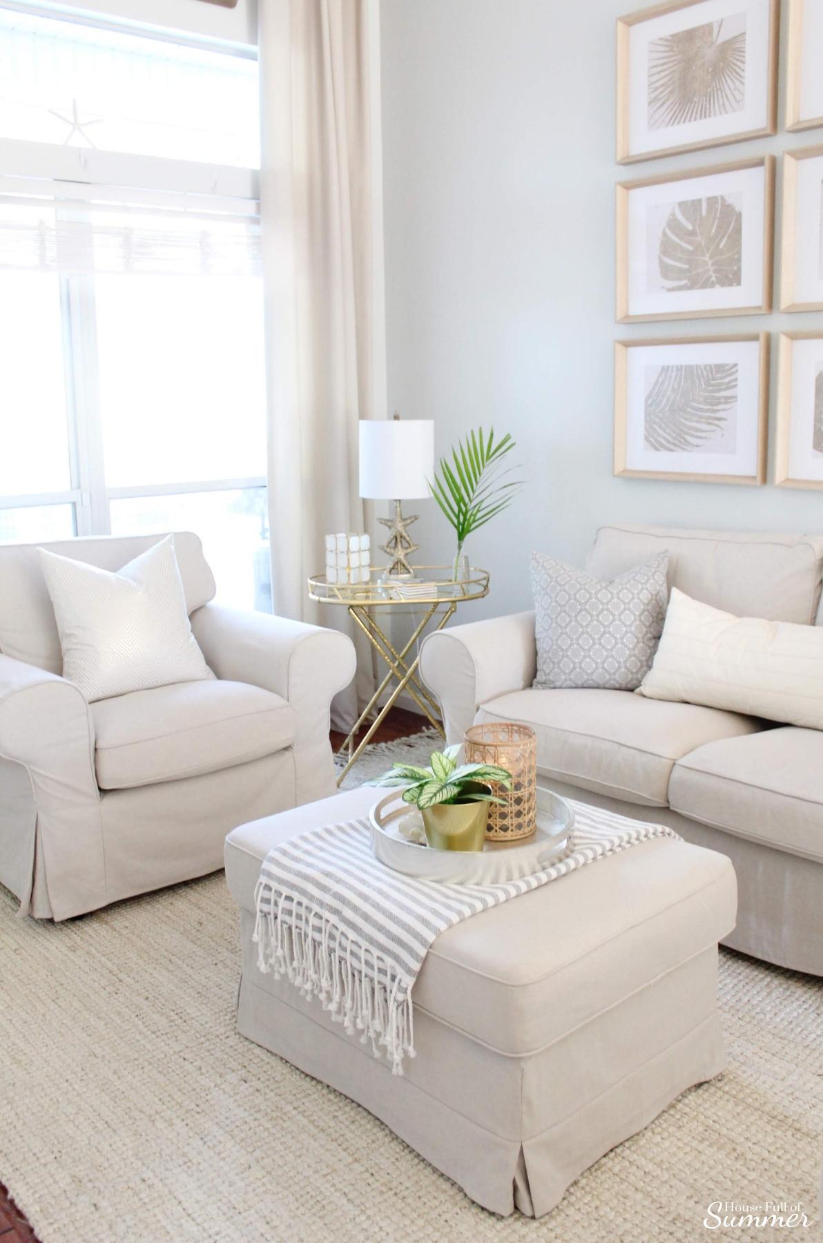 House Full of Summer & Styling My Coastal Living Room for Winter \u2014 House Full of ...