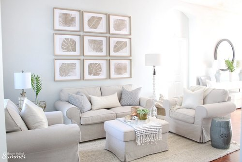 Styling My Coastal Living Room for Winter — House Full of ...