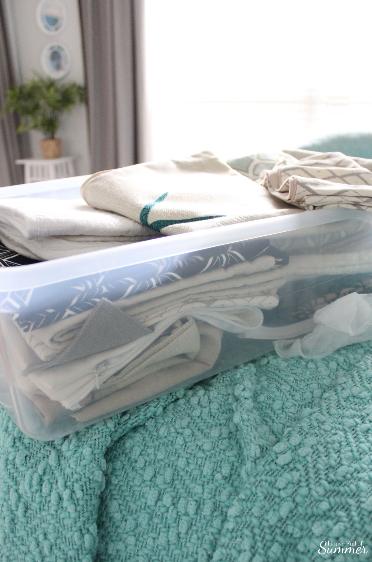 Storage Solutions For The Throw Pillow