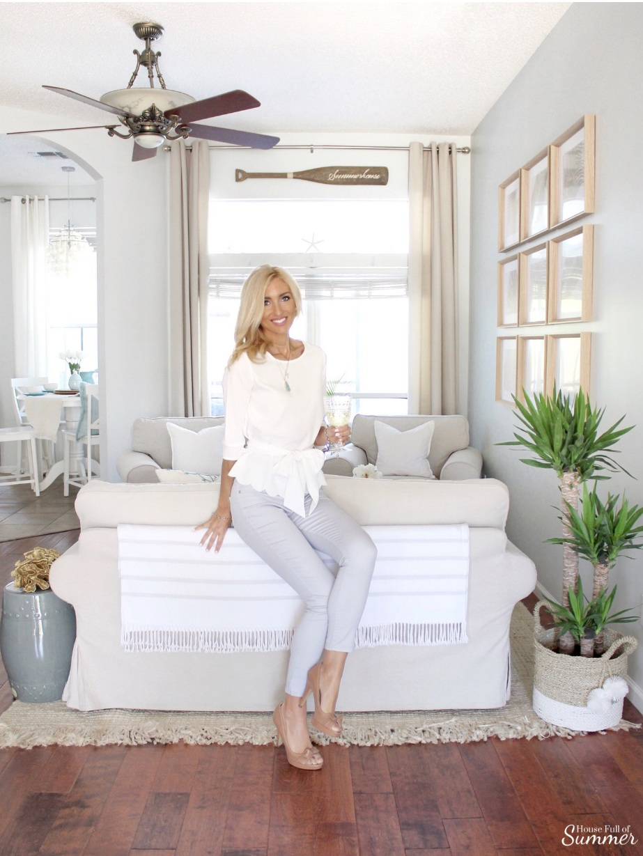 How I Chose My Calming Coastal Gray Wall Color — House Full of ...