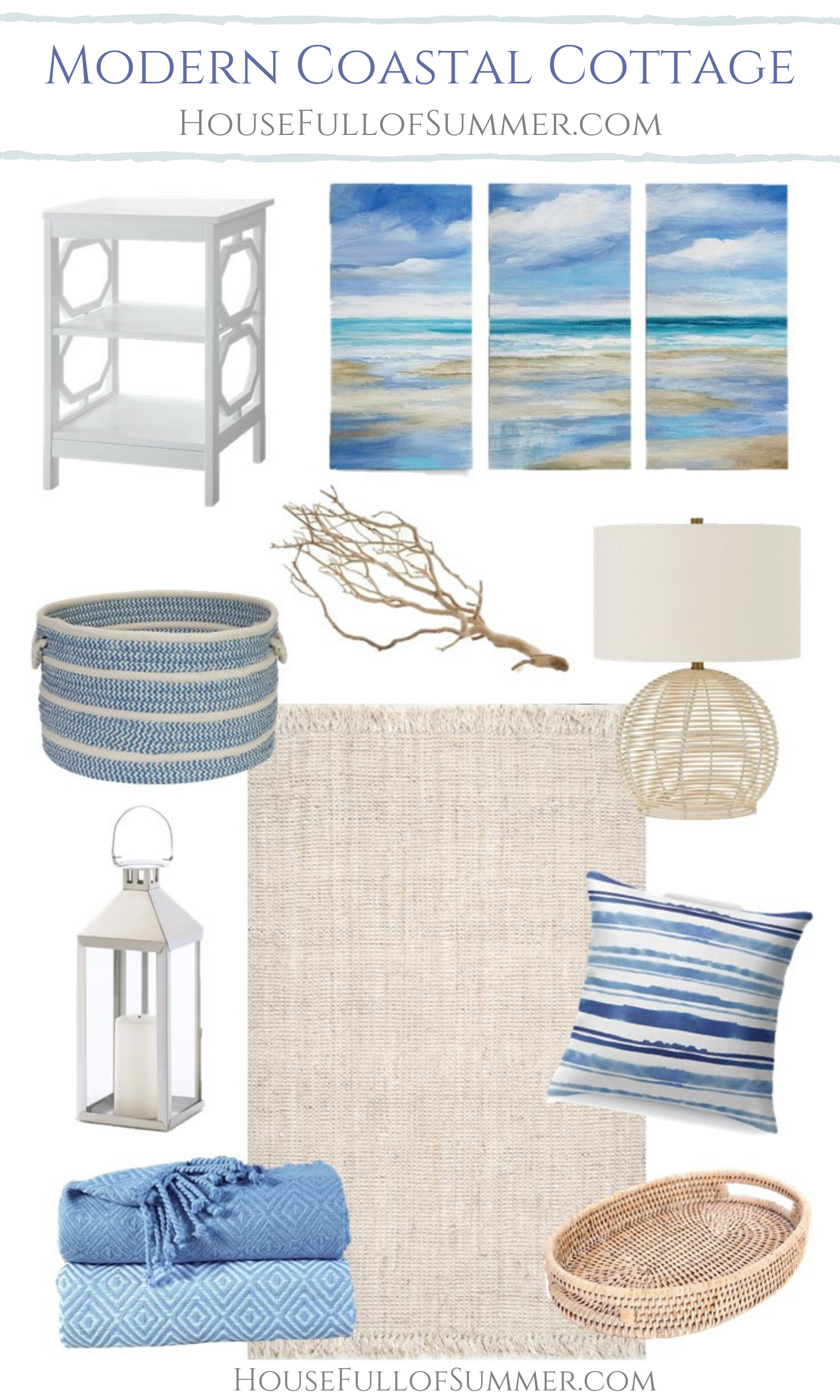 Tips for Decorating in Modern Coastal Cottage Style — House ...
