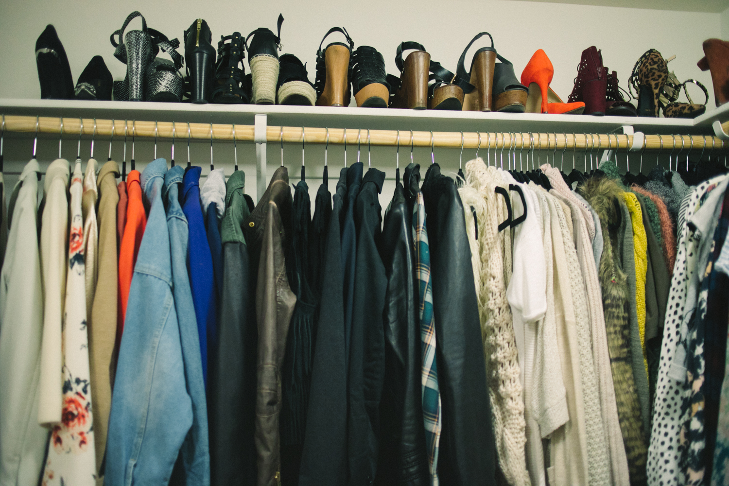 Closet Makeover by Las Vegas fashion bloggers Life of a Sister