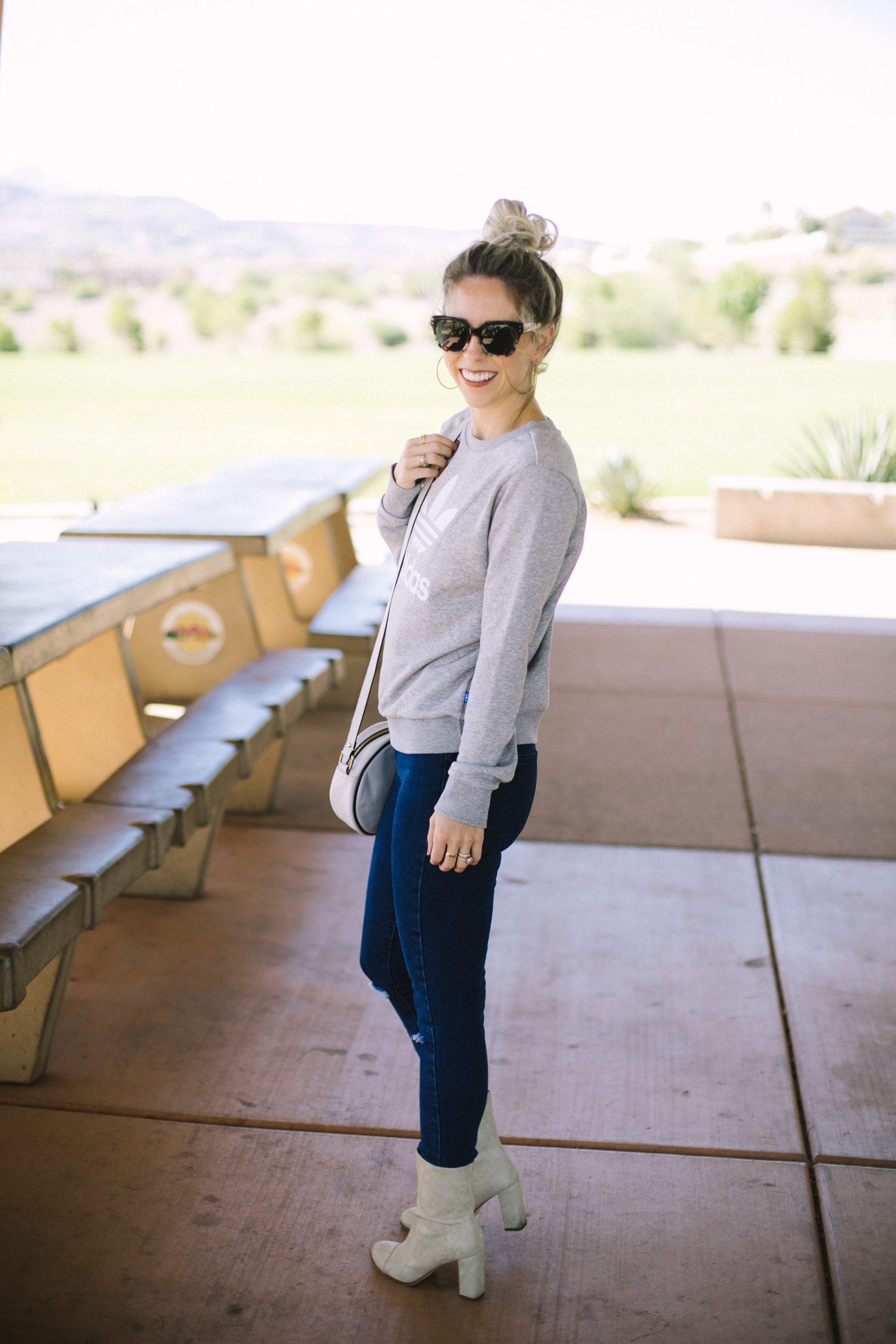 White Boots & All Things Fall by Las Vegas fashion bloggers Life of a Sister