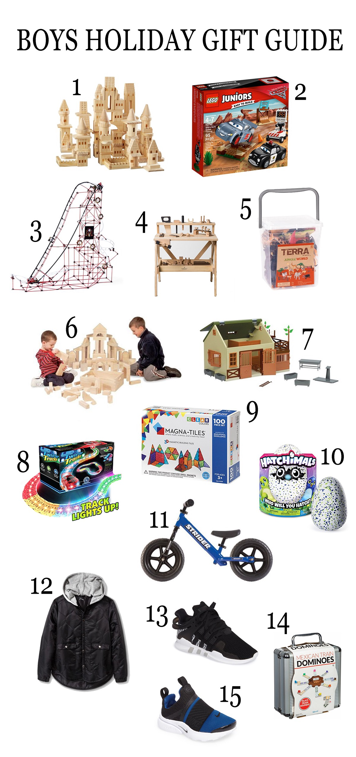 Boys Holiday Gift Guide: 15 Awesome Ideas by Las Vegas style blogger Life of A Sister
