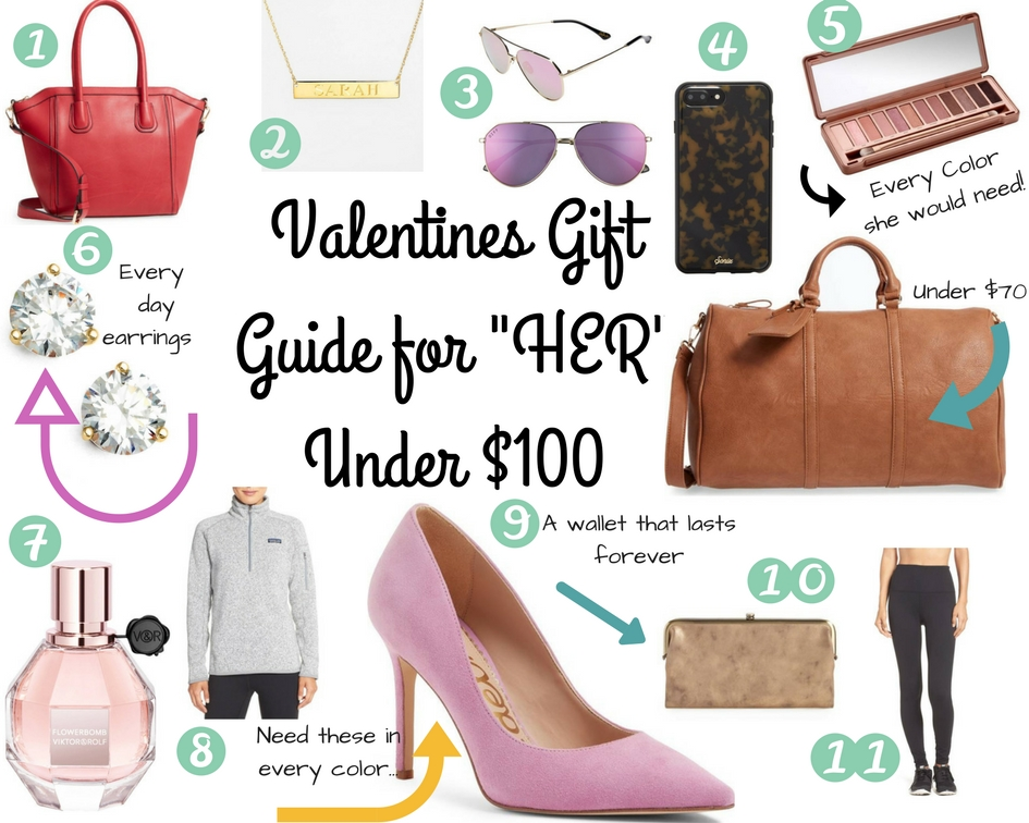 Valentines Day Gift Ideas for Her Under $100 by top US life and style blog Life of a Sister