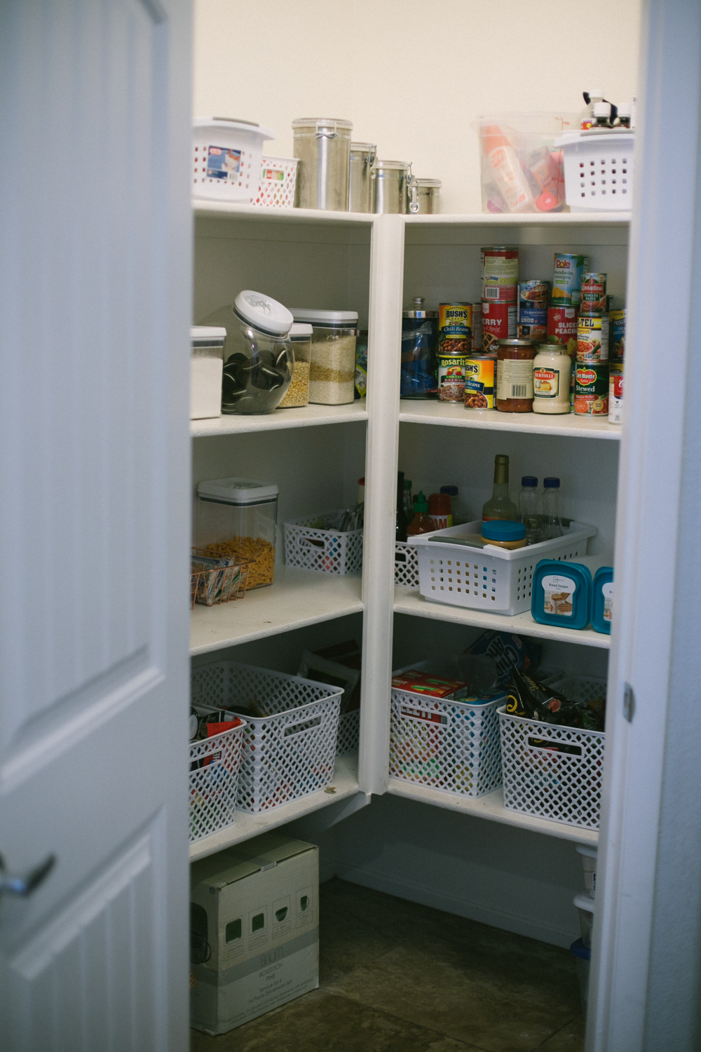 Pantry Organization Tips by popular Las Vegas bloggers Life of a Sister
