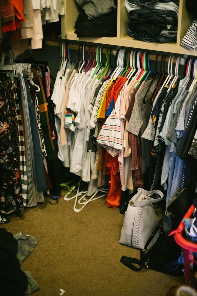 Organization Tips: How to Maximize your Closet featured by popular Las Vegas fashion bloggers, Life of a Sister