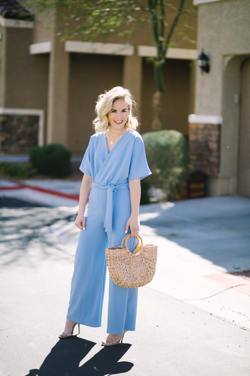 Cute Spring Jumpsuit styled by top US fashion blog, Life of a Sister