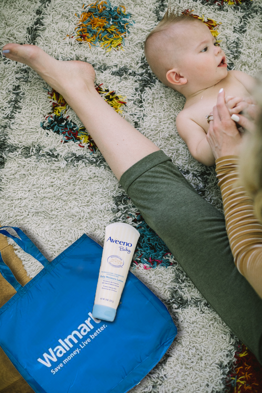 Aveeno Baby Lotion review, featured by top US lifestyle blog, Life of a Sister