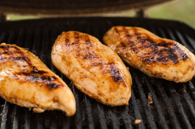 Honey Glazed Grilled Chicken Recipe featured by top US lifestyle blog, Life of a Sister
