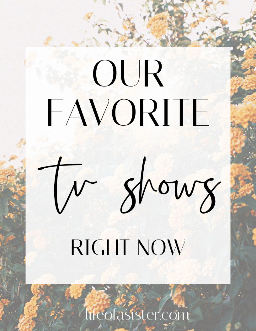 Our 6 Favorite TV Shows Right Now  featured by top US lifestyle blog, Life of a Sister