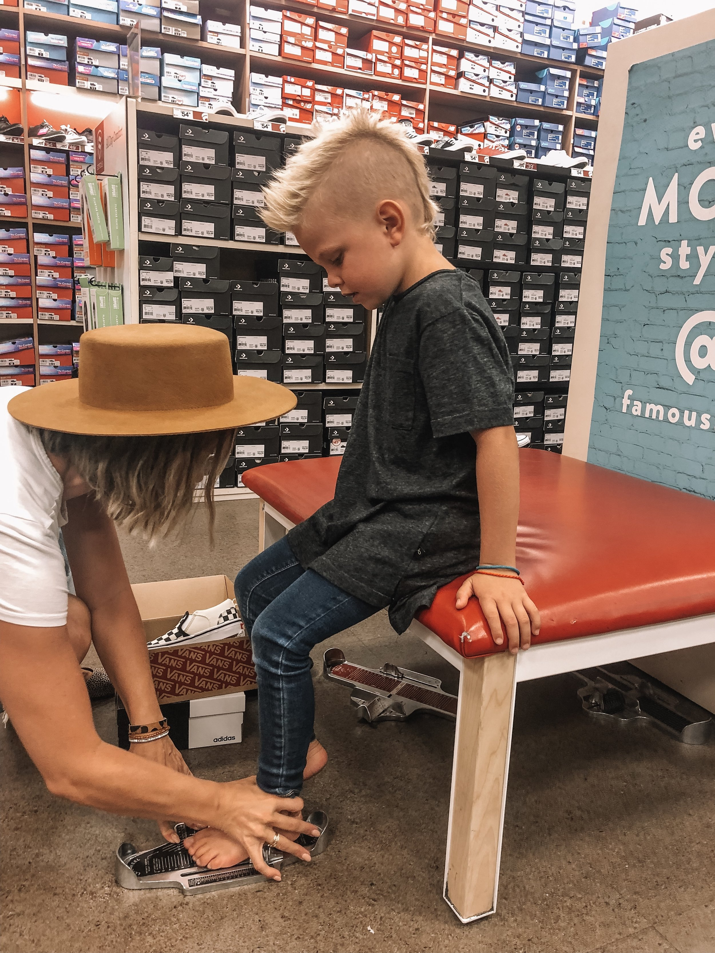 Back to School Shoe Shopping with Famous Footwear featured by top US life and style blog, Life of a Sister