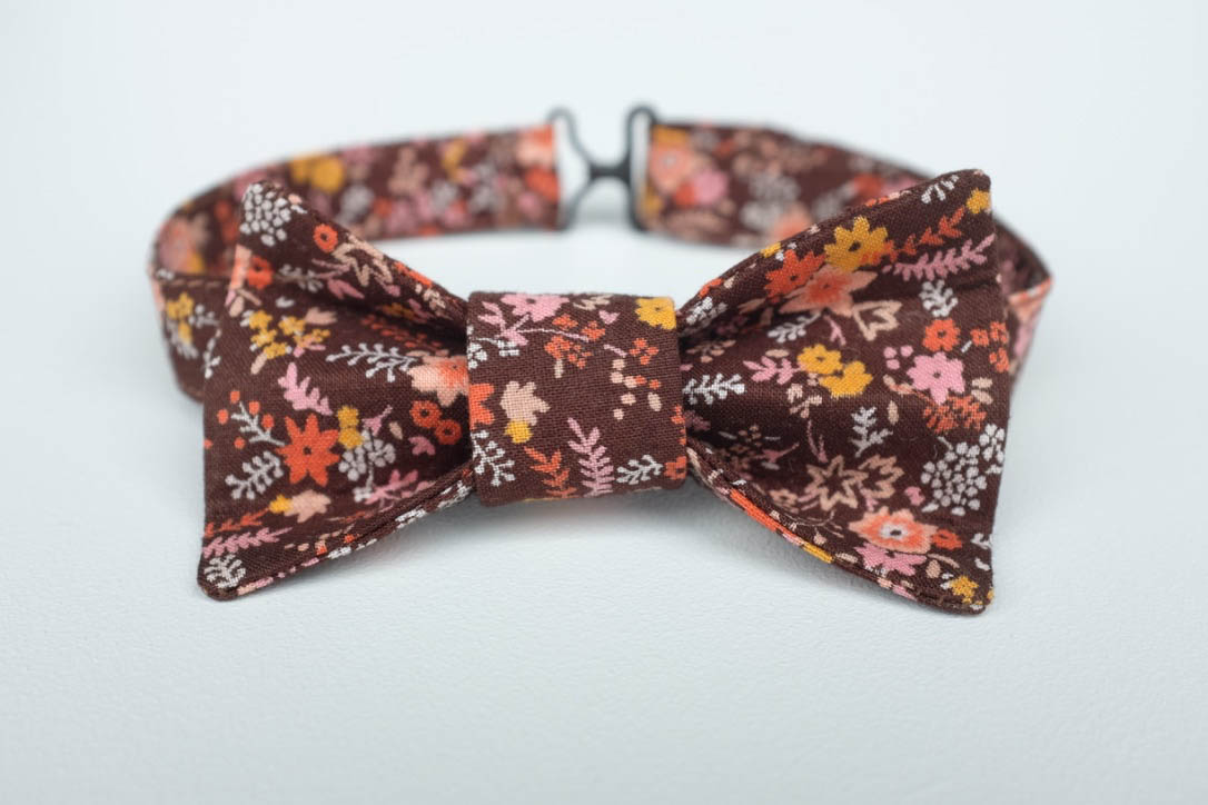 Bow tie - Materials  - $10Labour    -$25Overheads - $10COST      $45+ 10% profit - $4.50+ GST     - $7.42TOTAL     $56.92RETAIL     $45