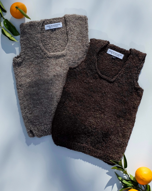 Vest - WE USED WOOL FROM OUR OWN PET SHEEP, SO WE HAVEN'T CHARGED FOR IT IN THIS FIRST RUN OF VESTS.SIMPLY PUT THESE ARE A TOTAL BARGAIN AT $55.WE WILL BE CHARGING MORE FOR THE NEXT RUN BECAUSE WE ARE OUT OF OUR OWN SLAUGHTER-FREE WOOL AND NEED TO BUY IN.