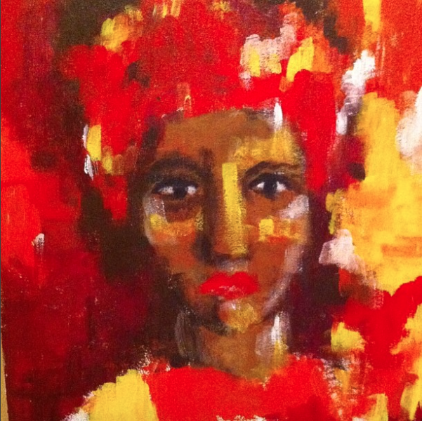(Exhibit 2011) - A collection of paintings by Agam Darshi.
