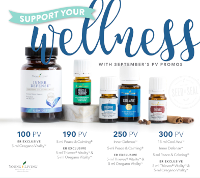 Support your wellness with Young Living's September Essential Rewards Promotion