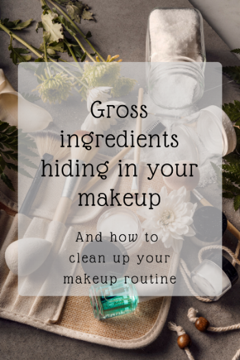 Discover the gross ingredients hiding in your makeup