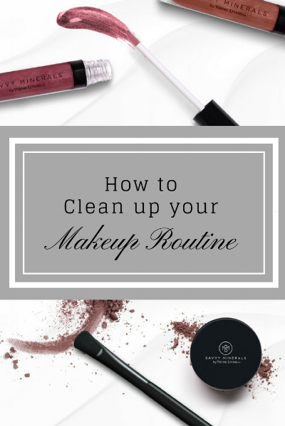 How to clean up your makeup routine with Savvy Minerals