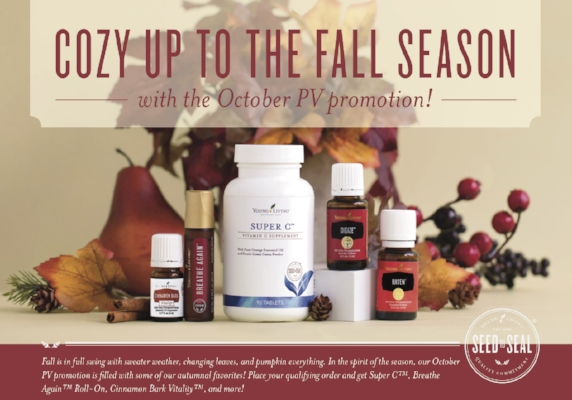 Cozy up to fall with Young Living's October Promotion