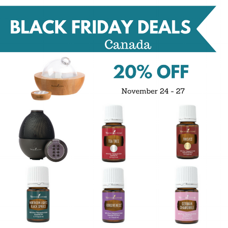 Shop Young Living Canada Black Friday and Cyber Monday Deals