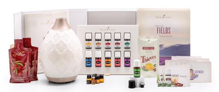 Young Living's Premium Starter Kit features 11 essential oils and the diffuser of your choice. Get started now!