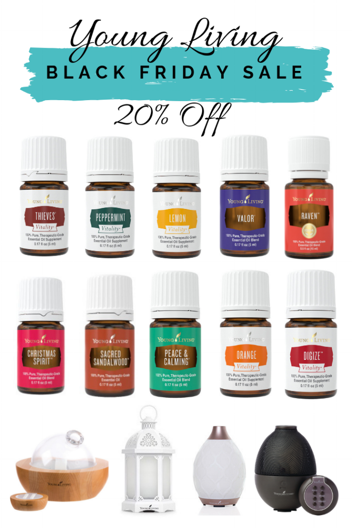 Shop Young Living's Black Friday Sale - 20% off!