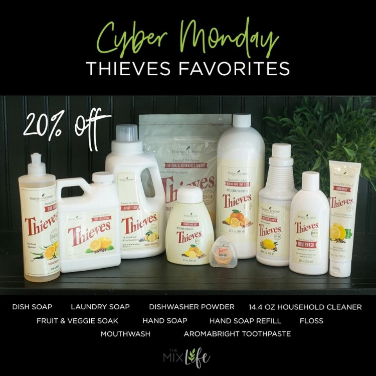 Shop Young Living's Cyber Monday Sale: 20% off health and beauty favorites