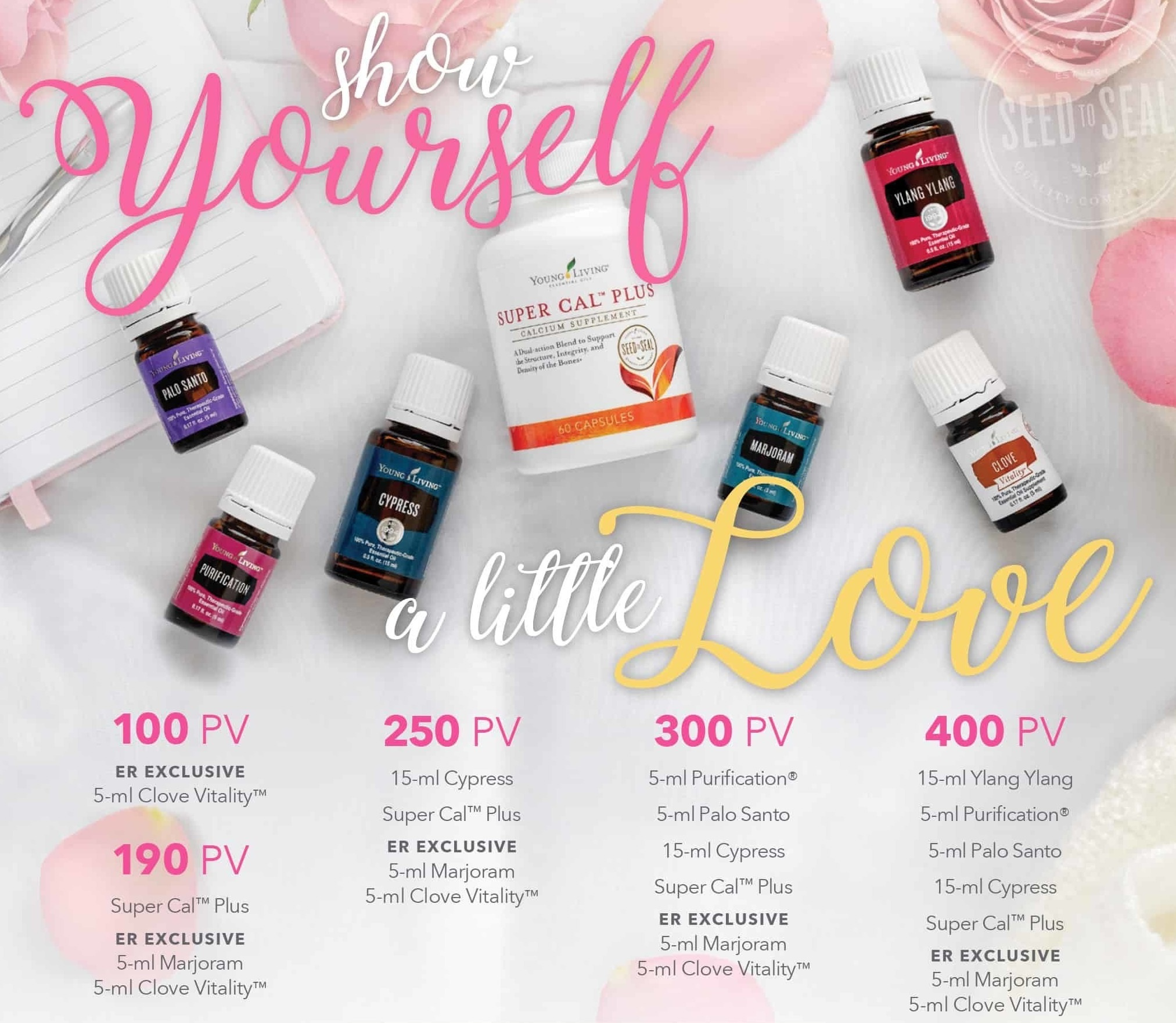 Show yourself some love with Young Living's February Essential Rewards Promotion