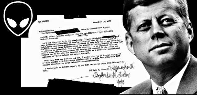 JFK demands CIA hand over all UFO/alien intelligence files