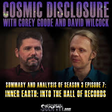 Here is the link to the Cosmic Disclosure site directly.