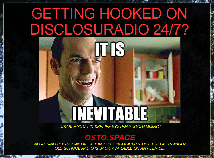 Agent Smith Knows What's Best For You. - LISTEN AND TUNE OUT YOUR MIND FROM THE GRID.
