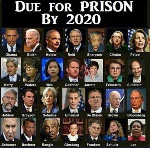CosmicGuy Prediction - THERE WILL COME A TIME WHEN YOU WILL BE A READER OF THIS AFTER THEY ARE ALL IN JAIL OR HAVE BEEN EXECUTED. IT JUST MIGHT TAKE A COUPLE YEARS. WATERGATE WAS NOTHING COMPARED TO SATANGATE AND IT TOOK SEVERAL YEARS TO COME TO FRUITION. STAY THE COURSE!