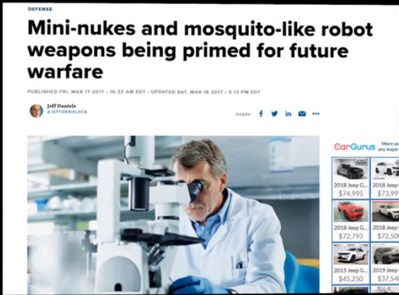 Future Warfare? - Wouldn't you like to fire all the scientists working on such things?