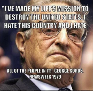 Where is America's White Hat George Soros? - To defeat your enemy, you first must come to grips with their existence; and then become twice as vicious.