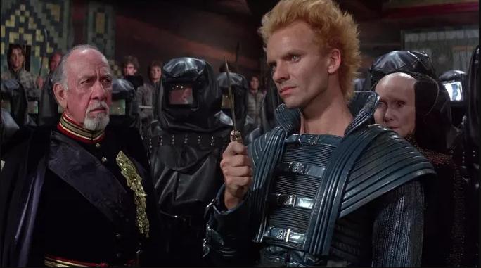 Final scene from the movie Dune written by Frank Herbert.