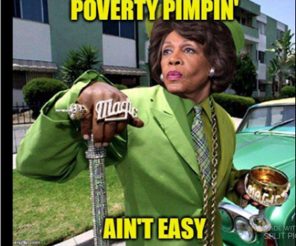 Rep. Waters charged on three counts - of helping a bank in which her husband owned stock secure federal bailout funds.