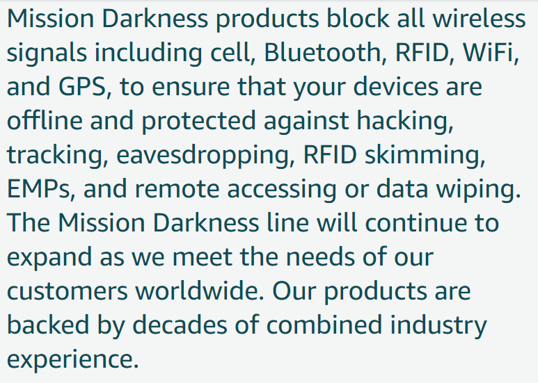 FARADAY TECH - This synopsis to the left sums it up concisely. You need to level the technological playing field. No one is reporting or talking about these products. They don't want you to know about them.