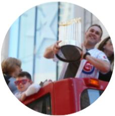 Miguel Montero   Chicago Cubs, World Series Winner is celebrating.
