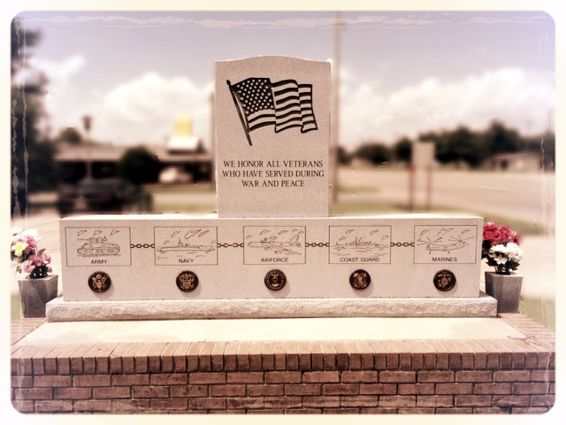 Veteran's Memorial - Dedicated 2012