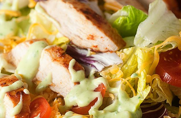 2. Southwestern Avocado Salad Dressing Photo Credit:  BunsInMyOven.com