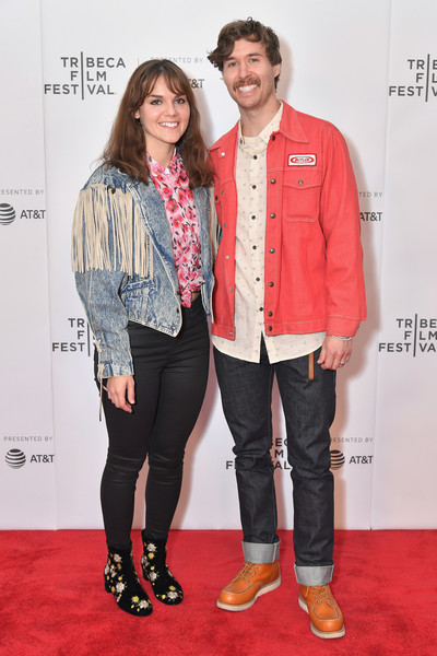 Keylee and Micah Sudduth walk the red carpet at the 2018 Tribeca Film Festival. Home was selected as one of Tribeca's New Online Work honorees, and their pilot episode closed the episodic program.