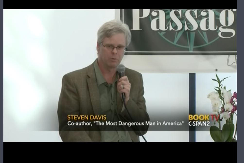 CSPAN Book TV on The Most Dangerous Man in America