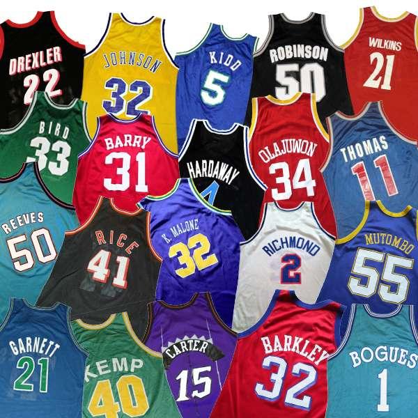 quality design 695ac 7bfa1 30 Jerseys: Each Team's Best — Basketball Joe | NBA Articles ...
