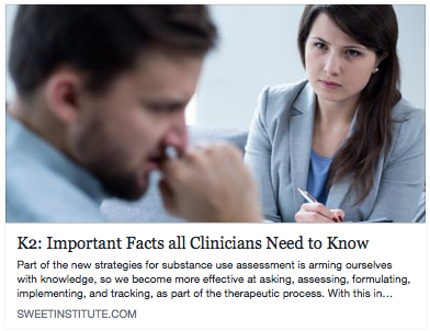 K2: Important Facts all Clinicians Need to Know