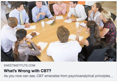 What's wrong with CBT?